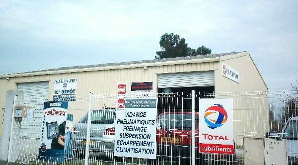 Garage MEDOC AUTO PRO - EUROREPAR<br /> Zone Artisanale de Bos 33290 PAREMPUYRE<br /> le garage se situe face au cimeti&egrave;re , rue de la gare .